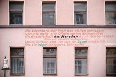 居民住房在柏林克罗伊茨贝格 免版税库存图片