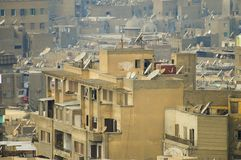 居民住房-开罗 图库摄影