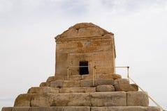 居鲁士二世, Pasargad,伊朗坟茔  库存照片