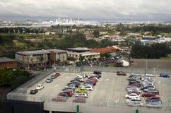 屋顶停车场 库存图片