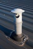 屋顶出气孔 免版税库存照片