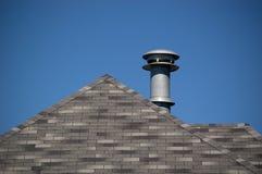 屋顶出气孔 免版税库存图片
