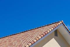 屋顶和天空 图库摄影