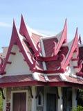 屋顶在华欣 库存图片