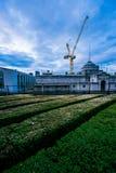屋顶大阳台1 免版税图库摄影