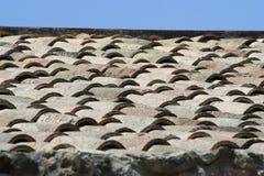 屋顶天空瓦片 免版税图库摄影