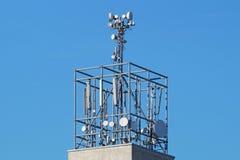 屋顶天线 图库摄影