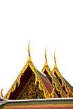 屋顶寺庙在泰国 图库摄影