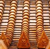 屋顶寺庙泰国 免版税图库摄影