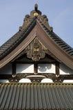 屋顶寺庙 免版税库存图片