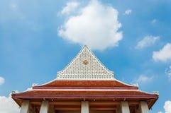 屋顶寺庙 库存照片