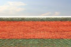 屋顶寺庙 免版税库存照片