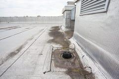 屋顶平台流失 库存图片