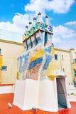 屋顶房子住处Batlo 免版税图库摄影