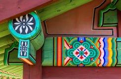 屋顶房檐装饰 库存图片