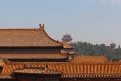 屋顶故宫。 库存照片