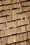 屋顶木瓦纹理 免版税库存图片