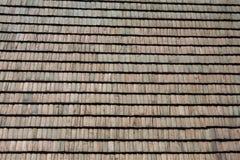 屋顶木瓦 免版税库存照片