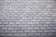屋顶板岩瓦片 库存照片