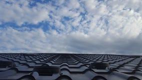 屋顶板料 库存照片