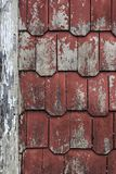屋顶标题 免版税库存照片