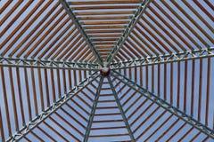 屋顶桁架 免版税库存照片