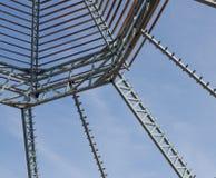 屋顶桁架 免版税图库摄影