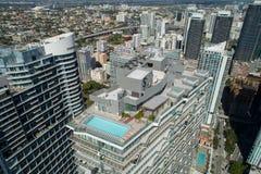 屋顶水池甲板SLS Brickell 库存图片