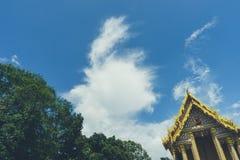 屋顶泰国的Wat 免版税库存照片