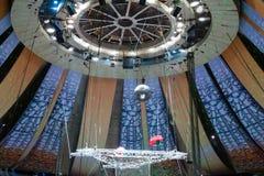 屋顶用在伟大的莫斯科状态马戏的设备 免版税库存照片