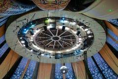 屋顶用在伟大的莫斯科状态马戏的设备 库存图片