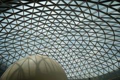 屋顶由钢制成 免版税库存图片