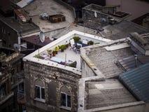 屋顶的天堂 免版税库存图片