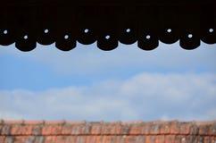 屋顶的瓦片 免版税图库摄影