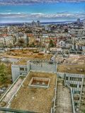 屋顶的贝尔格莱德 库存照片