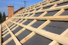 屋顶的细节 库存图片