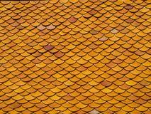 屋顶盖瓦 无缝的纹理 免版税库存照片