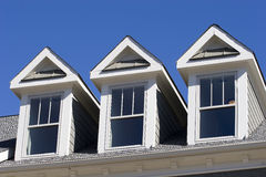 屋顶窗三 库存照片