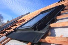 屋顶窗口 免版税图库摄影