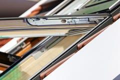 屋顶窗口系统 免版税库存照片