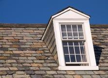 屋顶窗右侧视窗 免版税库存照片