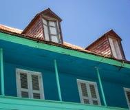 屋顶窗在热带 库存图片