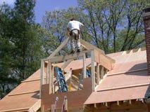 屋顶窗构成 库存图片