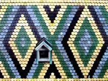 屋顶纹理 免版税库存图片