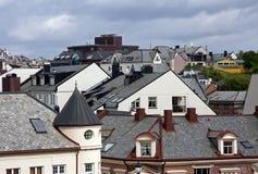 屋顶视图 免版税图库摄影
