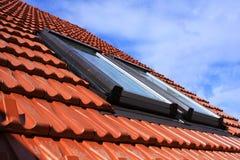 屋顶视窗 库存图片