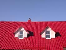 屋顶视窗 免版税图库摄影