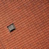 屋顶视窗 免版税库存图片