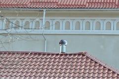 屋顶透气 库存照片
