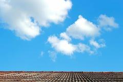 屋顶顶层 免版税库存图片